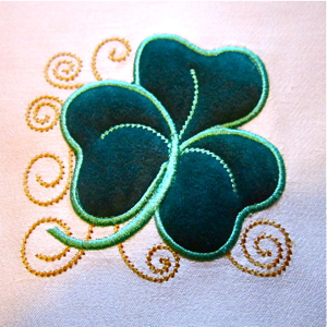 3D Puff embroidery Applique Embroidery Digitizing service